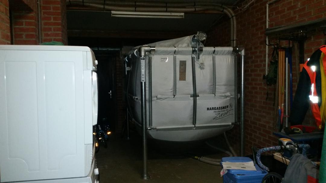 Chaudiere Hargassner Classic 22 avec silo textile à remplissage auto. - Warlus Image 1